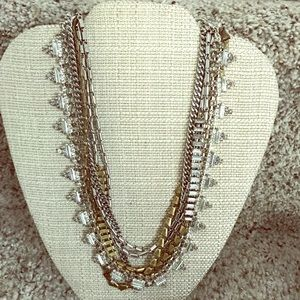 Mixed Metal Sutton necklace
